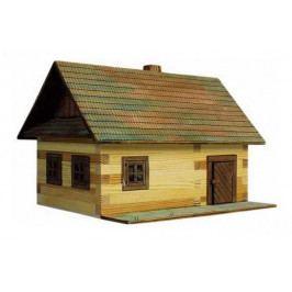 Walachia Walachia Dřevěná slepovací stavebnice roubená chalupa