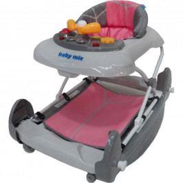 Dětské chodítko s houpačkou Baby Mix pink