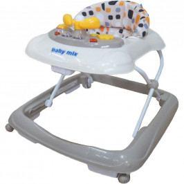 Dětské chodítko Baby Mix s volantem beige