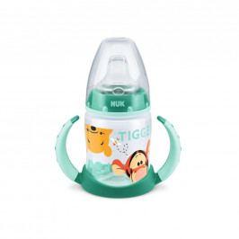 Kojenecká láhev na učení NUK 150 ml Disney Medvídek Pu zelená