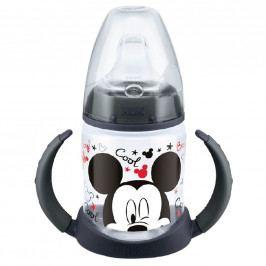 Kojenecká láhev na učení NUK Disney Mickey 150 ml šedá
