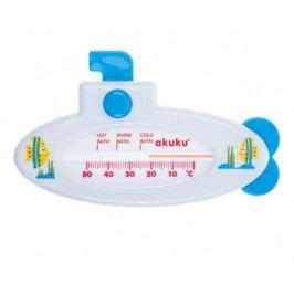 akuku Teploměr do vody Ponorka bílá