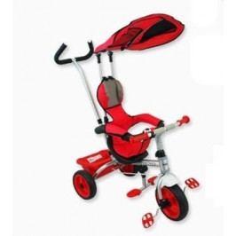 BABY MIX Tříkolka s pásy a vodící tyči