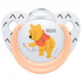 Šidítko NUK Trendline Disney Medvídek Pú 6-18m meruňkové 6-18 m
