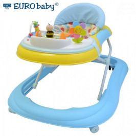 EURO BABY Multifunkční chodítko - modré/žluté