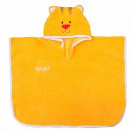 Dětské pončo Koala Freak oranžové 116-128 128 (7-8 let)