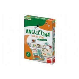 Dino Angličtina lišácké učení pro školáky naučná hra v krabici 19x27,5x4cm 6+