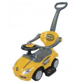 EURO BABY Jezdítko,odstrkovadlo, odrážedlo Car- žluté