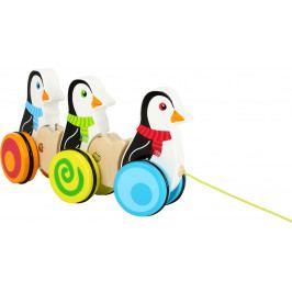 Small foot by Legler Dřevění tahací tučňáci