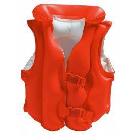 Nafukovací vesta plovací DELUXE červená, 3-6 let