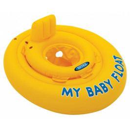 Intex Nafukovací plavátko žluté, kulaté, 70 cm