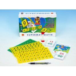 PEXI Supermatematik společenská hra naučná v krabici 29x19cm