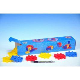 Vista Stavebnice Blok 1 plast 36ks v krabici 34x7x7cm