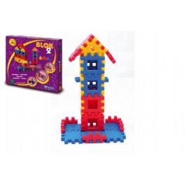 Vista Stavebnice Blok 2 plast 146ks v krabici 35x33x8cm