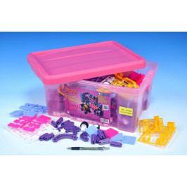 Vista Stavebnice Seva pro holky 1 Jumbo plast 1172ks v plastovém boxu 41x29x20cm