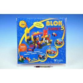 Vista Stavebnice Blok Family 5 plast 242ks v krabici 35x33x10cm