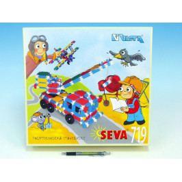 Vista Stavebnice Seva plast 719ks v krabici 35x33x8cm