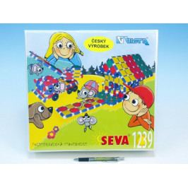 Vista Stavebnice Seva plast 1239ks v krabici 35x33x10,5cm