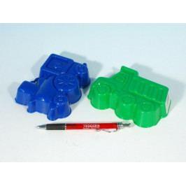 LORI Formičky Bábovky plast 13cm asst 4 barvy v síťce 12m+