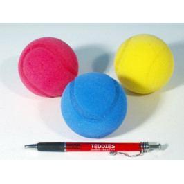 LORI Soft míč na soft tenis pěnový průměr 7cm asst 3 barvy