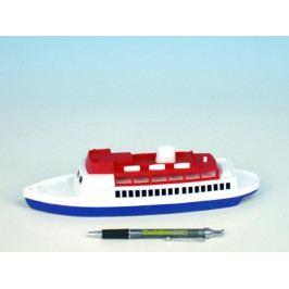 Směr Loď/Člun - Parník oceánský plast 26cm