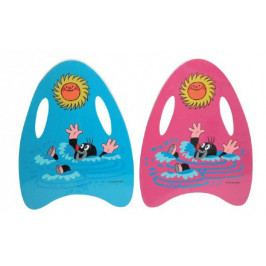 Wiky Plavací deska Krtek pěnová 33x45cm asst 2 barvy v sáčku