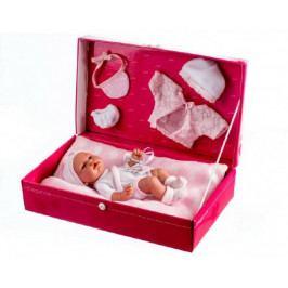 Arias Panenka/miminko Arias vonící 26cm pevné tělo s doplňky v krabici
