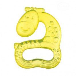 akuku Kousátko vodní, chladící AKUKU Žirafa - žluté