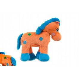 Teddies Kůň plyš 30cm chodící na baterie v sáčku
