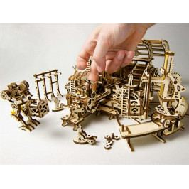 Ugears Ugears dřevěná stavebnice 3D mechanické Puzzle - Robotická továrna