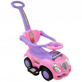 Dětské jezdítko 2v1 Baby Mix růžové