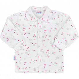 Kojenecký kabátek New Baby Magic Star růžový 50