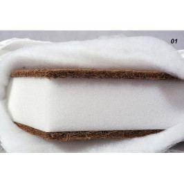 Dětská matrace kokos-molitan-kokos SuperLux 120x60x12