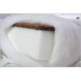 Dětská matrace molitan-kokos Lux 120x60x11