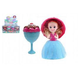 Teddies Panenka/Gelato/Cupcake - zmrzlinový pohár plast 16cm vonící asst 12 druhů v krabičce 12ks v boxu