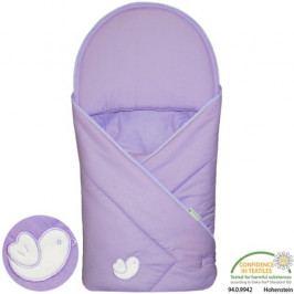 Babyrenka zavinovačka 90x90 Bird violet R9PA710338