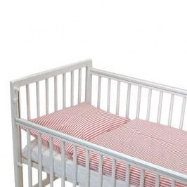 Babyrenka povlečení do postýlky dvoudílný set, 40 x 60, 100 x 135 cm,  Euro Anna pruh