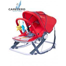Dětské lehátko CARETERO Aqua red