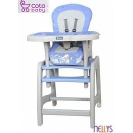 Coto baby Jídelní stoleček Coto Baby STARS blue
