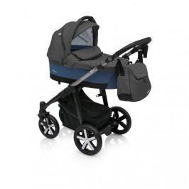 Kombinovaný kočárek Baby Design Husky 03 modrý + winterpack