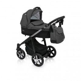 Kombinovaný kočárek Baby Design Husky  černý 10 + winterpack