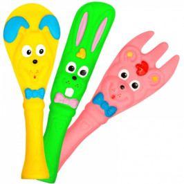 Hencz Toys Veselé gumové hračky - příbor