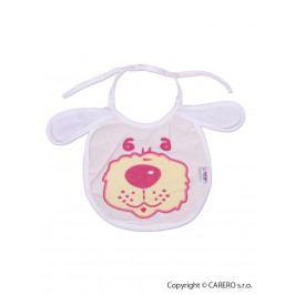 Dětský bryndák New Baby bílo-růžový