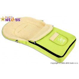 Baby Nellys Multifunkční fusák Vlna 4v1 Baby Nellys ® - limeta