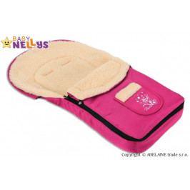 Baby Nellys Multifunkční fusák Vlna 4v1 Baby Nellys ® - amarant