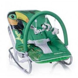 4 BABY 4 BABY Lehátko Jungle - zelené
