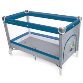 Cestovní postýlka Baby Design Simple modrá 03