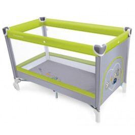 Cestovní postýlka Baby Design Simple zelená 04
