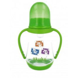 Láhev s obrázkem  Akuku 125 ml zelená