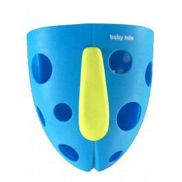 Plastový box na hračky do vany Baby Mix modrý